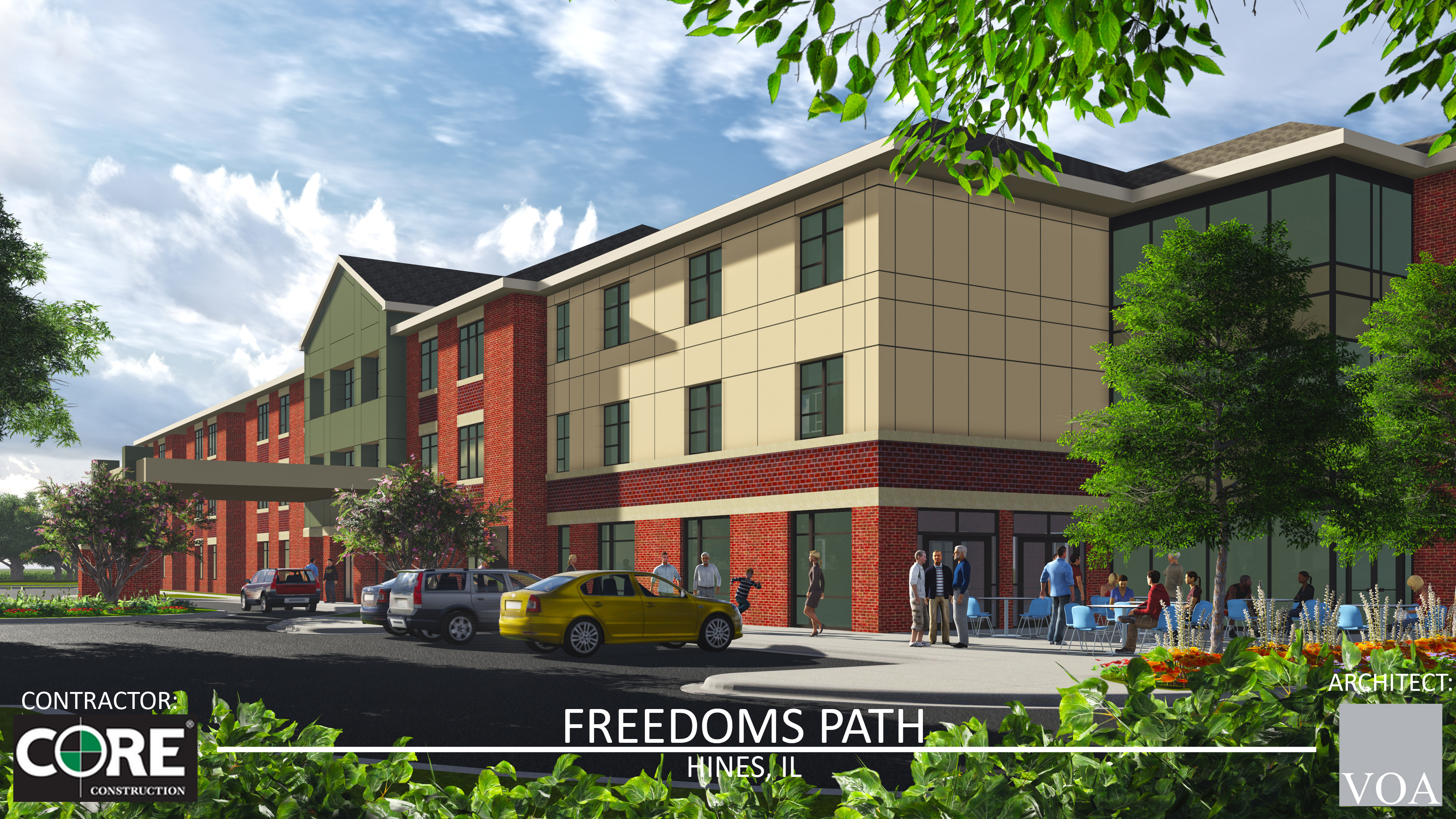 Freedoms Path Hines rendering